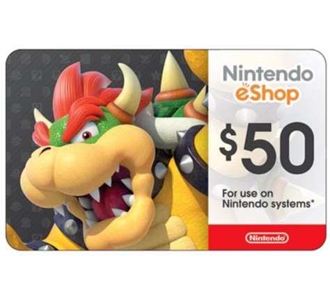 Eshop Gift Card Giveaway - 50 nintendo eshop gift card for at ebay ben s bargains