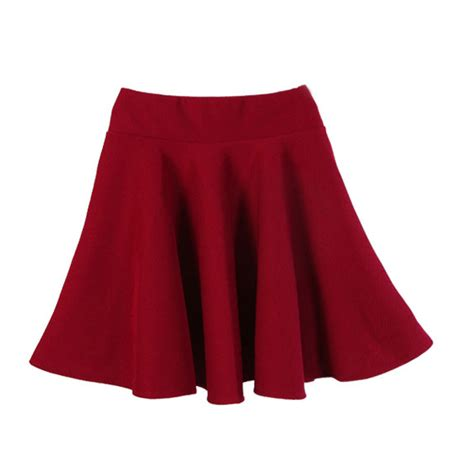 New For New Flare Skirt Rok A Line Celana Fashion Korea new color casual a line flared mini circle skirt pleated skirt in skirts from