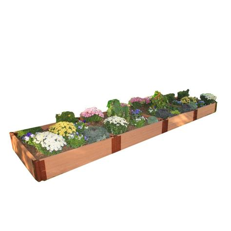 Home Depot Raised Garden Bed by Frame It All Two Inch Series 4 Ft X 16 Ft X 11 In