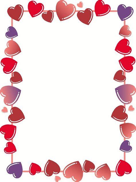 hearts free stock photo border 326