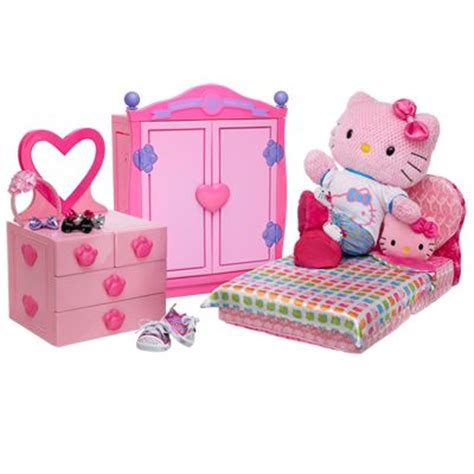 build a bear bedroom set hello kitty furniture at build a bear hello kitty