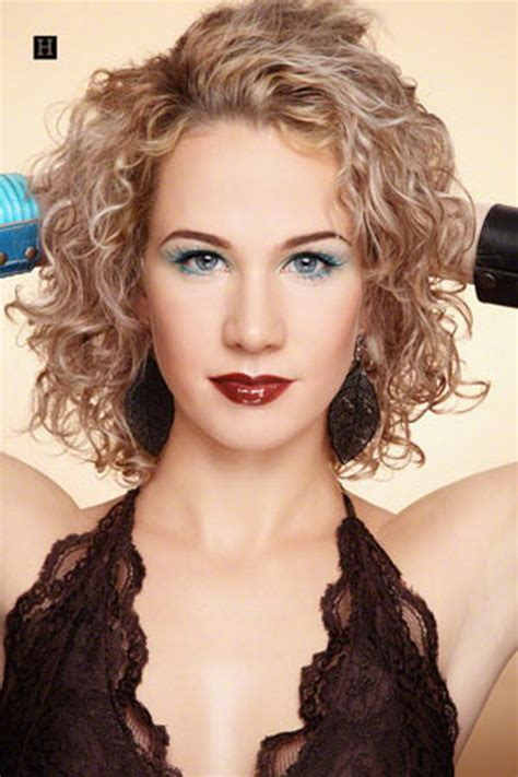 perm for shoulder length hair medium permed hairstyles