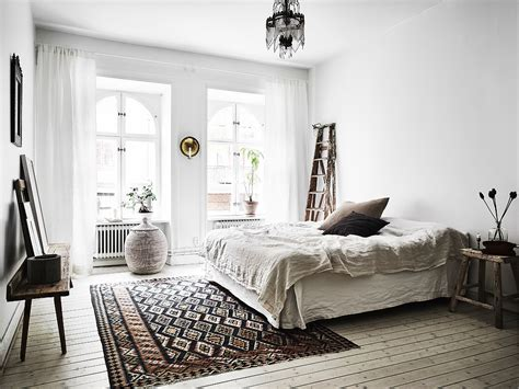 scandi bedroom scandinavian apartment with bohemian vibes daily dream decor