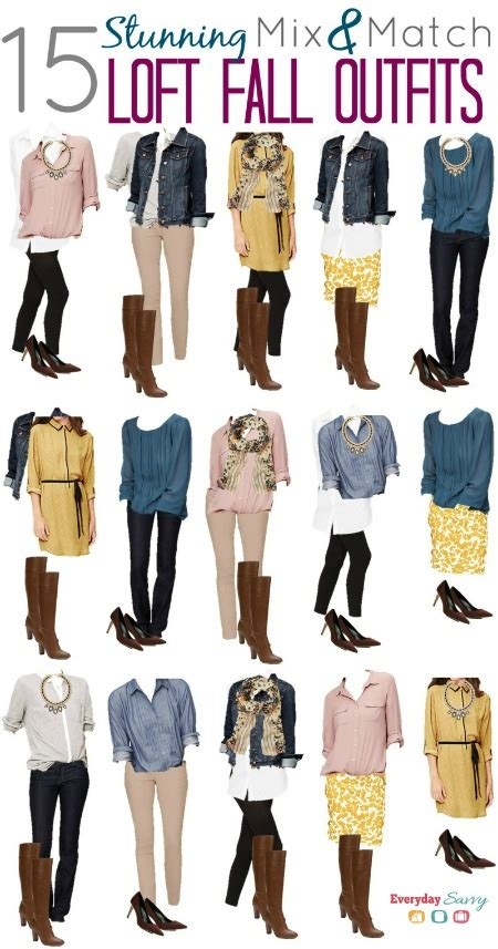 how to get color out of white clothes mix and match fall from loft fall capsule wardrobe