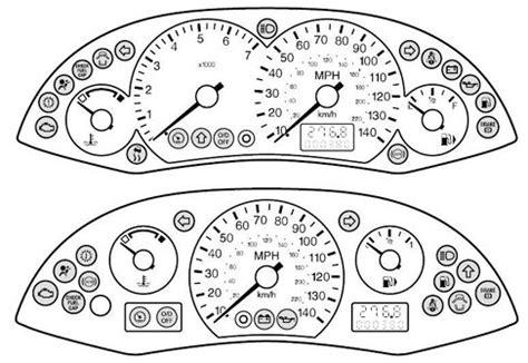 2002 ford taurus dash lights meaning dodge dash warning lights dodge free engine image for