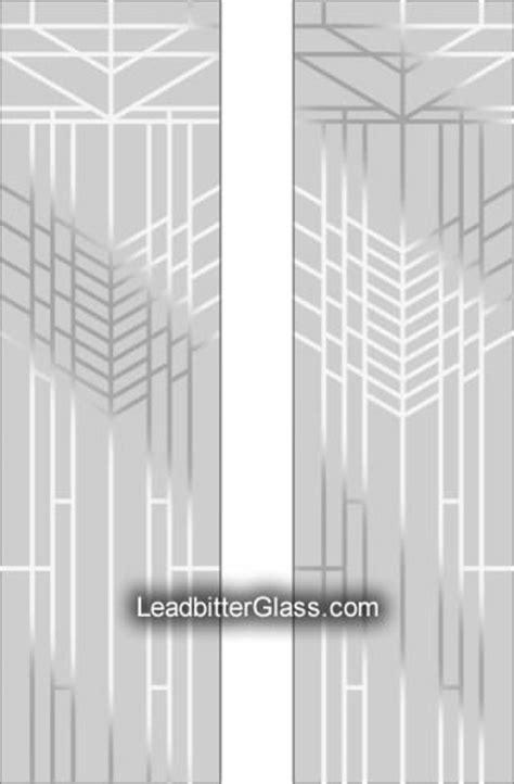 Frank Lloyd Wright Split Glazed Designs