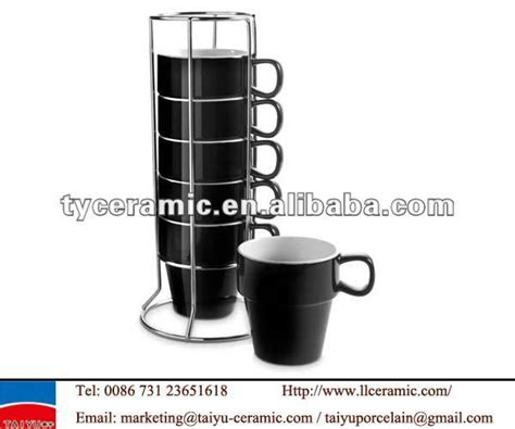 Stackable Coffee Mugs With Rack by Stackable Coffee Mugs With Rack Stackable Coffee Mug Buy