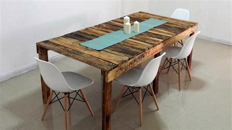 tavolo fai da te legno tavolo in pallet fai da te