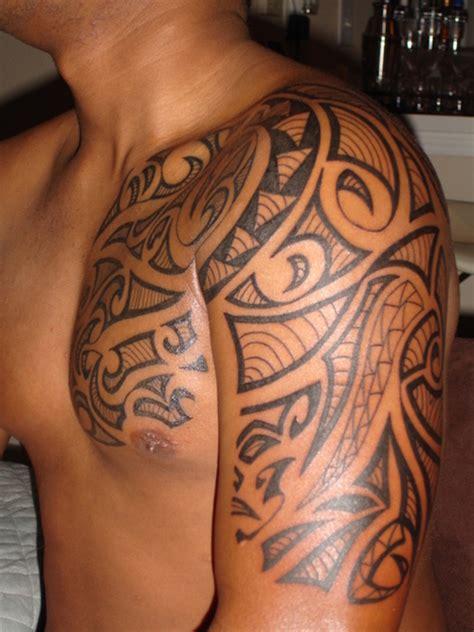 tribal shoulder celtic tattoos men only tattoos