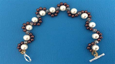 como hacer pulseras con perlas como hacer pulseras pulsera con perlas como hacer