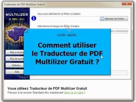 comment traduire layout en francais comment utiliser le traducteur de pdf multilizer gratuit