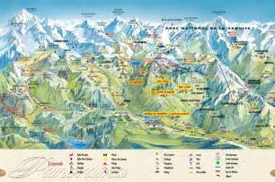 map of mountains maps of les arcs villages piste maps resort maps