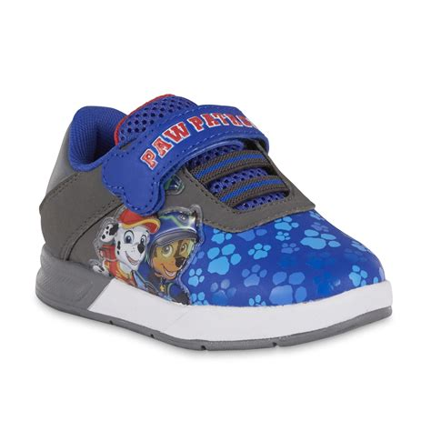 paw patrol light up sneakers toddler boys blue paw patrol light up sneaker