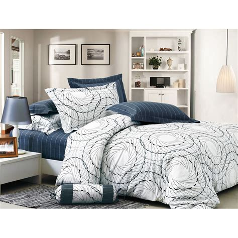 space fantasy cozy 4pc 100 cotton duvet cover comforter