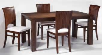 Solid Wood Dining Room Table And Chairs Modern Dining Room With Rectangular Solid Wood Table Set With Chairs Contemporary Dining