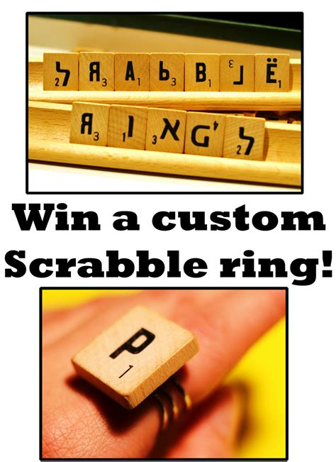 win scrabble pam lego two rings giveaway the lovely