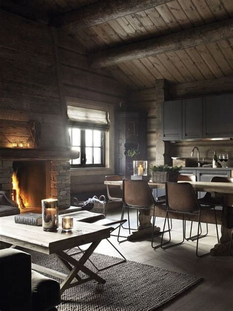 rustic norwegian decor  homes architecture