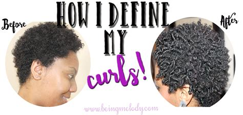 curl definition on twa how i define my natural hair with finger coils www