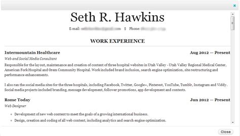 wotw boost your cred with a slick resume eclectic