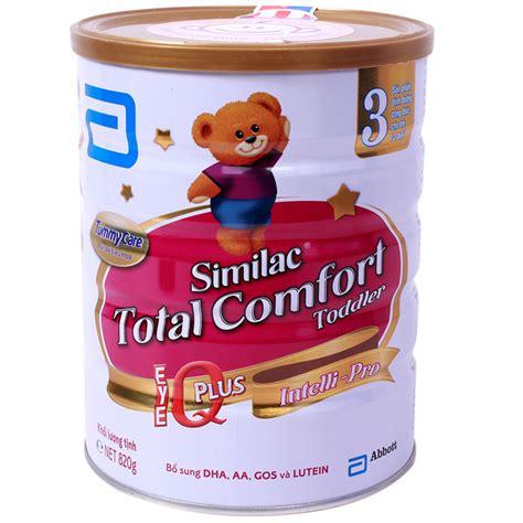 gain plus total comfort sữa similac gain total comfort số 3 820g d 224 nh cho b 233 từ 1