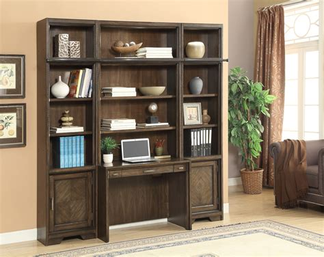 bookcase desk wall unit parker house meridien home office library bookcase wall
