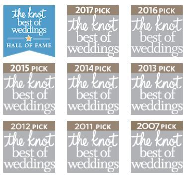 2017 Best of Weddings Award from The Knot   NYC Site   1