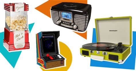 modern technology gadgets retro style gadgets electronics new technology with