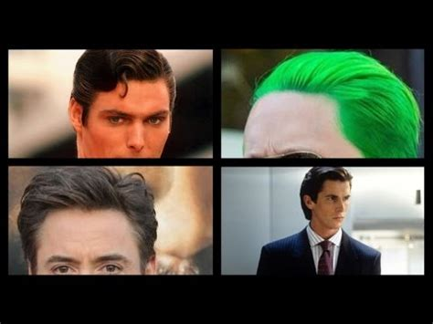Pomade Joker superman the joker tony stark american psycho