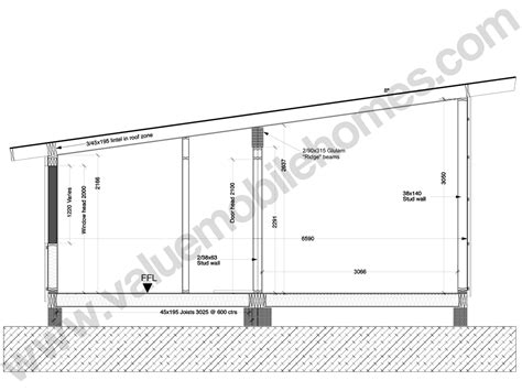 section of roof mobile home specification roof types and sections