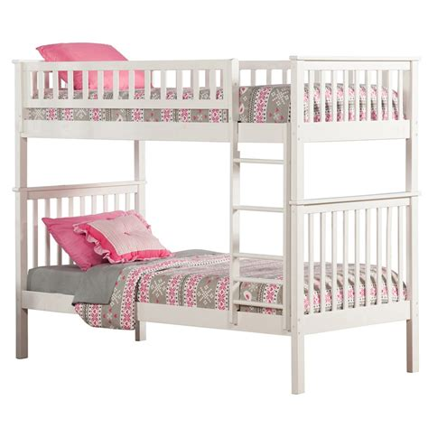 twin bunk beds white woodland twin twin bunk bed white ab56102