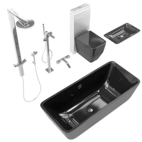 bathroom fixture sets bathroom fixture set 3d model cgtrader