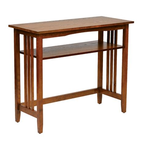 Mission Style Console Table by Mission Style Console Table Wayfair