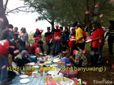 Lare Osing klob komunitas lare osing banyuwangi brunei