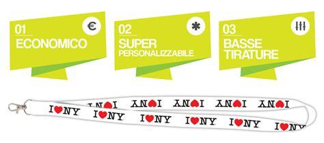 laccio porta badge laccio da collo porta badge economico mm immagine