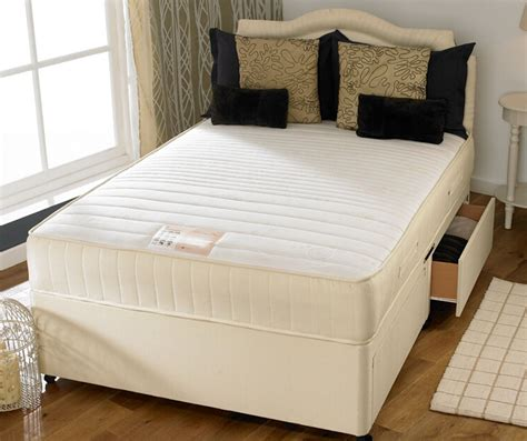 2ft 6 Mid Sleeper by Memory Flex Divan Bed Bedmaster 174