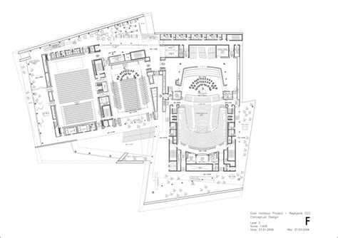 concert hall floor plan harpa concert hall and conference centre henning larsen