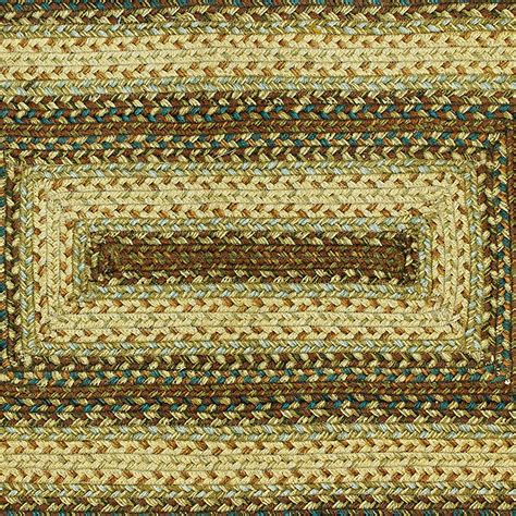 primitive jute braided area throw rug oval and