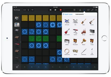 garageband for ios apple lancia l app memo musicali e nuovi live loops per