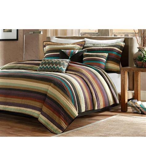 striped comforter set lodge cabin striped comforter set king size
