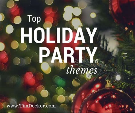 25 unique christmas party themes ideas on pinterest