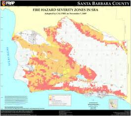 cal santa barbara county fhsz map