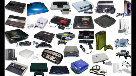 game console history list history of video game consoles youtube