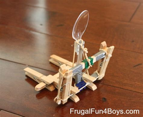 Candy Corn Catapults! (Four ways to build a catapult out