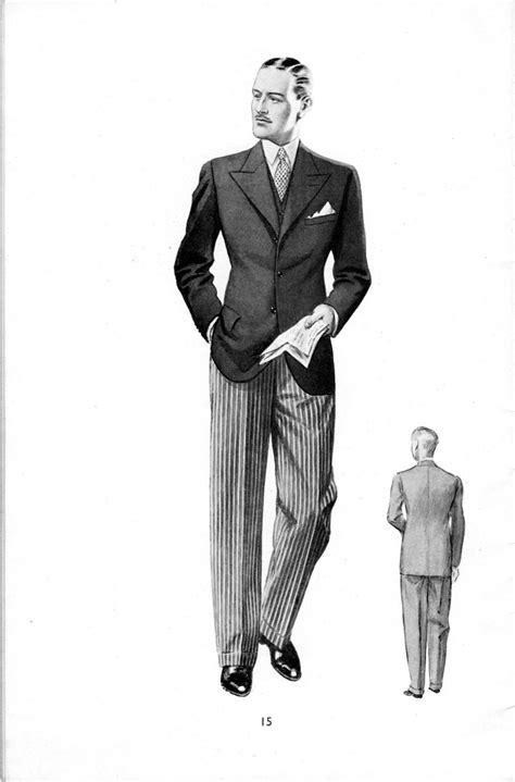 Stroller Suit/Stresemann in 2019   1940s mens fashion