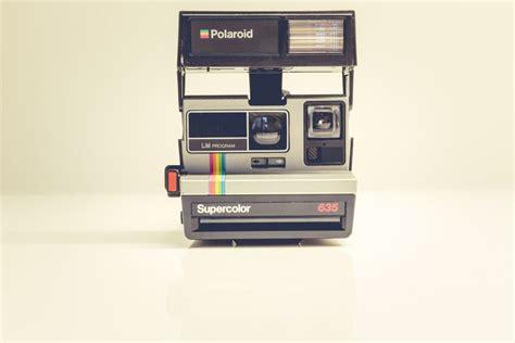 retro polaroid retro polaroid supercolor free stock photo