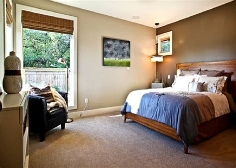 Accent wall painting color ideas for room neutral with dark accent