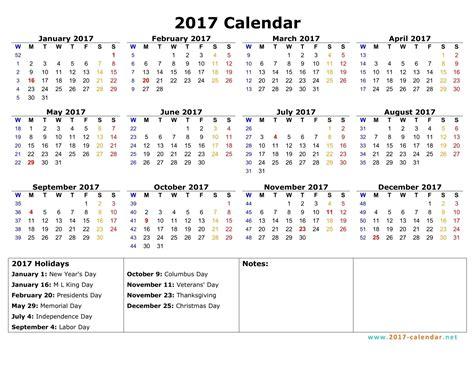 calendar with week numbers 2017 blank calendar 2017