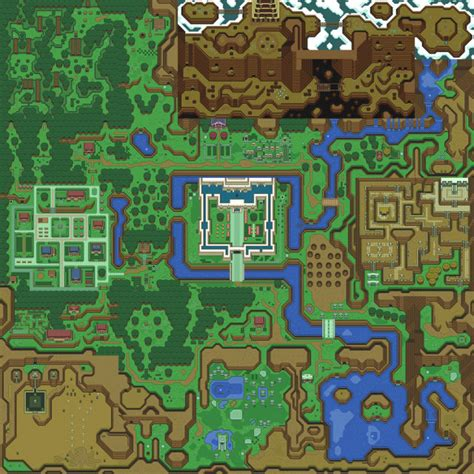 legend of zelda nes map poster more giant video game overworld map stage murals geekologie