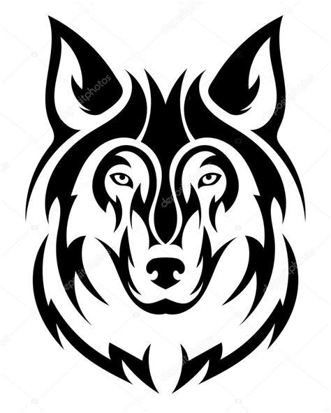 tatuagem de lobo lindo vector a cabe 231 a do lobo como um