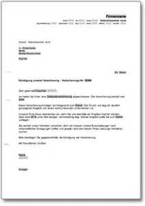 Brief An Versicherung Muster Dehoga Shop K 252 Ndigung Einer Versicherung Kaufen